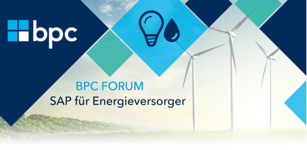 Save the Date! bpc Forum 2019